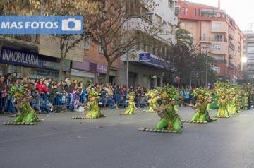 desfile infantil viernes carnaval de Badajoz 2016 las mejores fotos