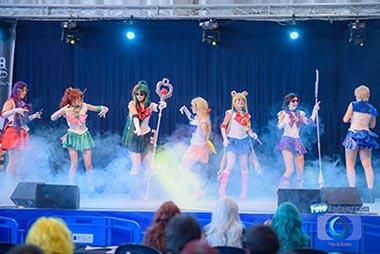 Foto de una actuación en el Extremanga 2015