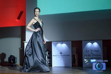 desfile de la gala top model of Spain 2015 Badajoz
