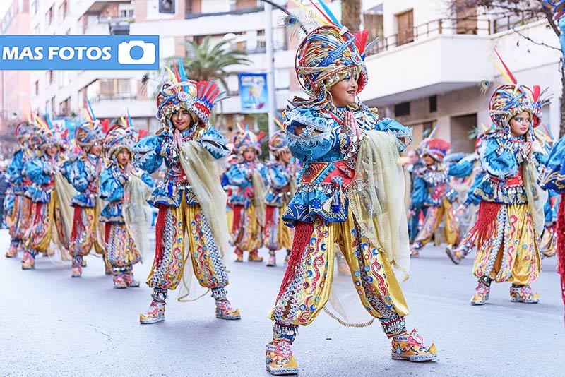 desfile infantil de comparsas 2017