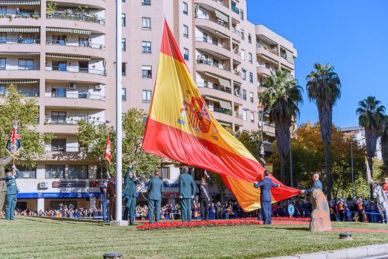 Izado de Bandera 40 Aniversario de la Constitución