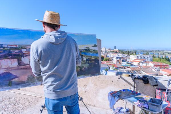 XXI Concurso de pintura - Ciudad de Badajoz